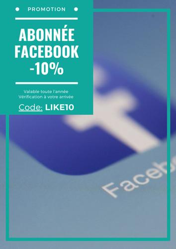 -10% facebook