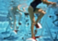 Au Domaine les 2 Mondes aquabike aquajogging rameur