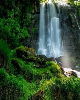 Les cascades d'auvergne