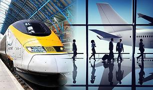 Domaine les 2 Mondes navettes gare/aeroport