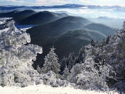 le mont dore hiver
