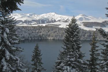 lac pavin hiver
