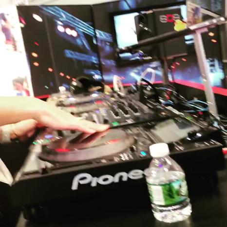 DJ Nixx for 808 Audio - CES Las Vegas