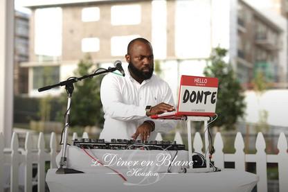 DJ Donte Diner en blanc Houston
