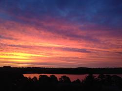 Pykes Summer Sunset