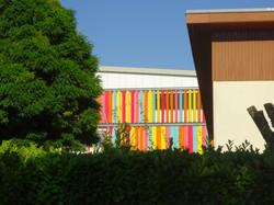 Ecole Chabeuil - Vue depuis la rue