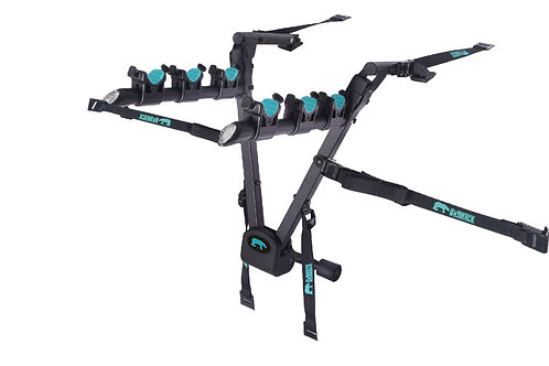 BnBRack Transformer Fordable 2 Bikes Car Rack حامل دراجة هوائية ثلاثي للسيارات