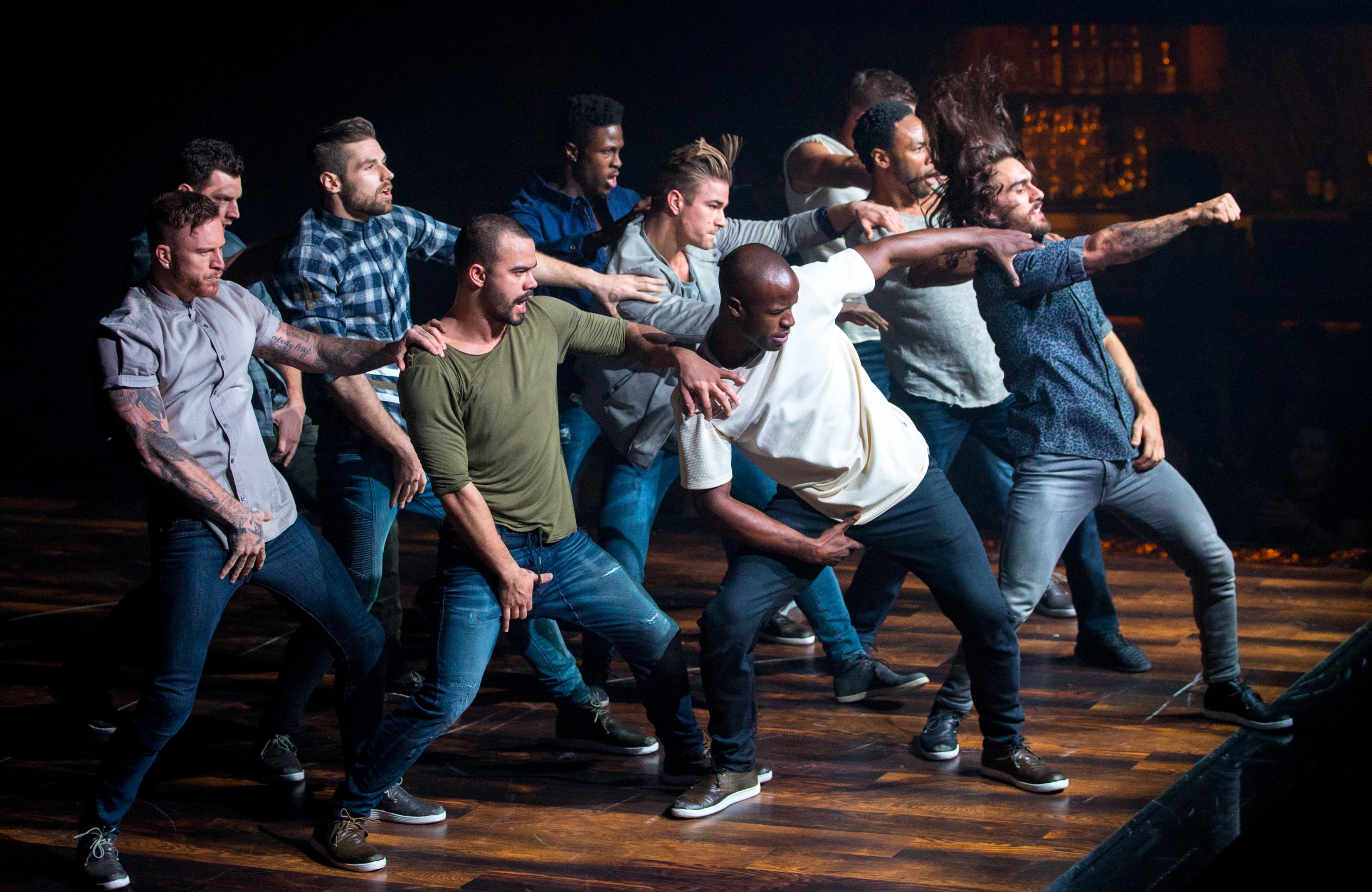 Cast of MAGIC MIKE LIVE LAS VEGAS Performs at Hard Rock Hotel & Casino 4.21.17_Erik Kabik (6)