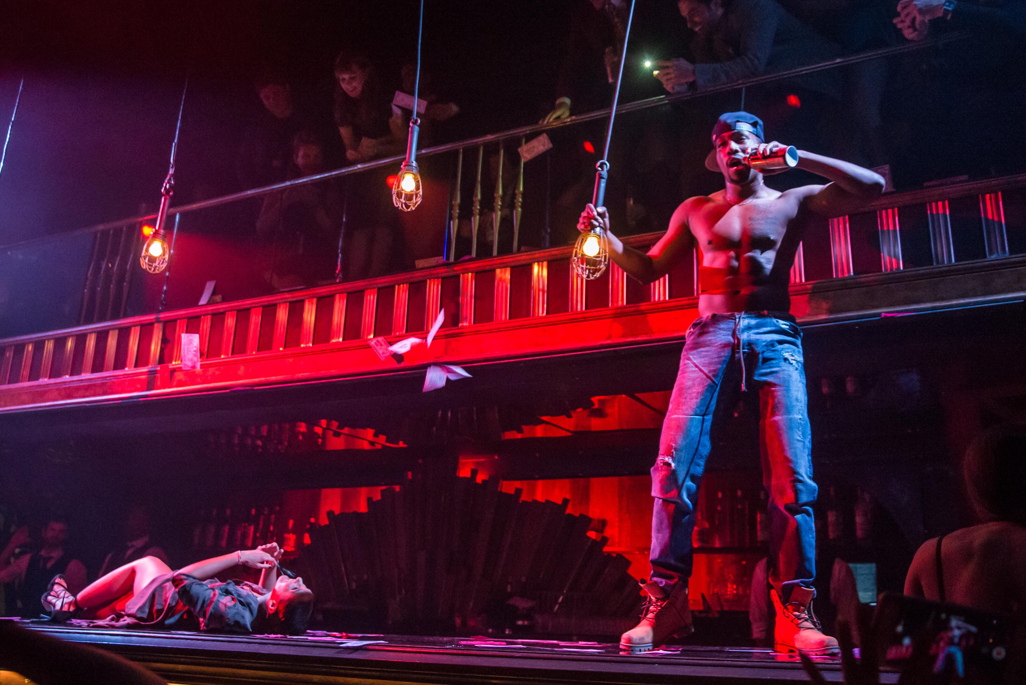 Kyo Dominick Performs in MAGIC MIKE LIVE LAS VEGAS at Hard Rock Hotel & Casino 4.21.17_Erik Kabik