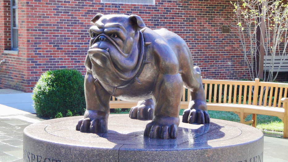The Dwight-Englewood School Bulldog