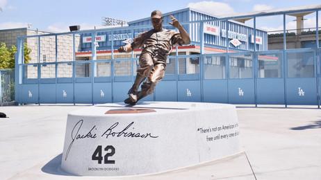 The Jackie Robinson Memorial