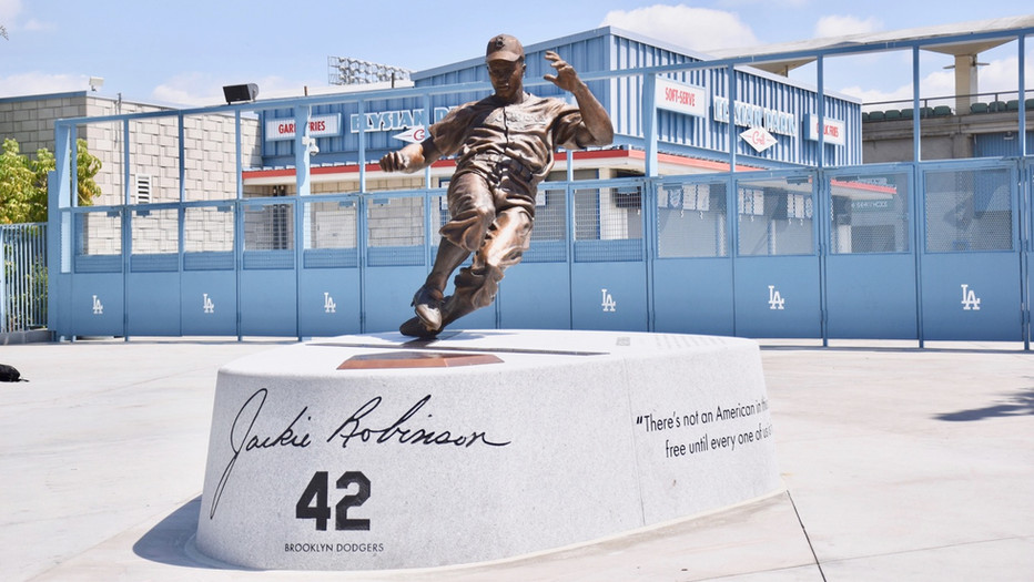 The Jackie Robinson Memorial