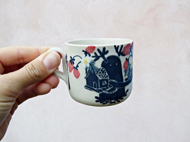 Tasse à café Vagabond aux fraises