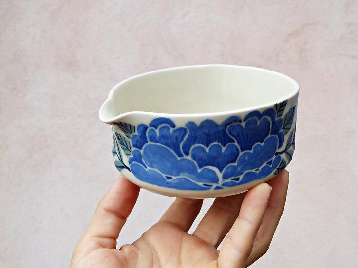 Katakuchi blue peony