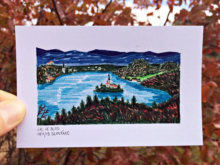 Lac de Bled - ORIGINALE