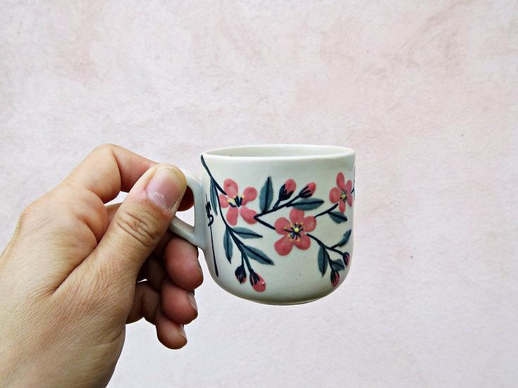 """Tasse à café """"Fleurs d'amandier"""""""