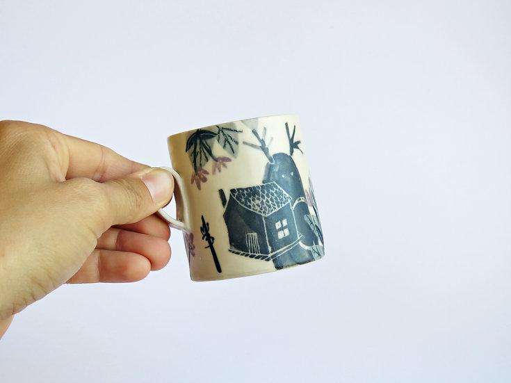 Tasse à café Vagabond Voyageur