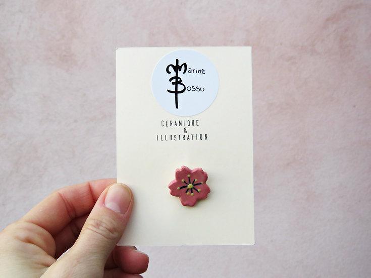 """Pin's """"Fleur d'amandier"""""""