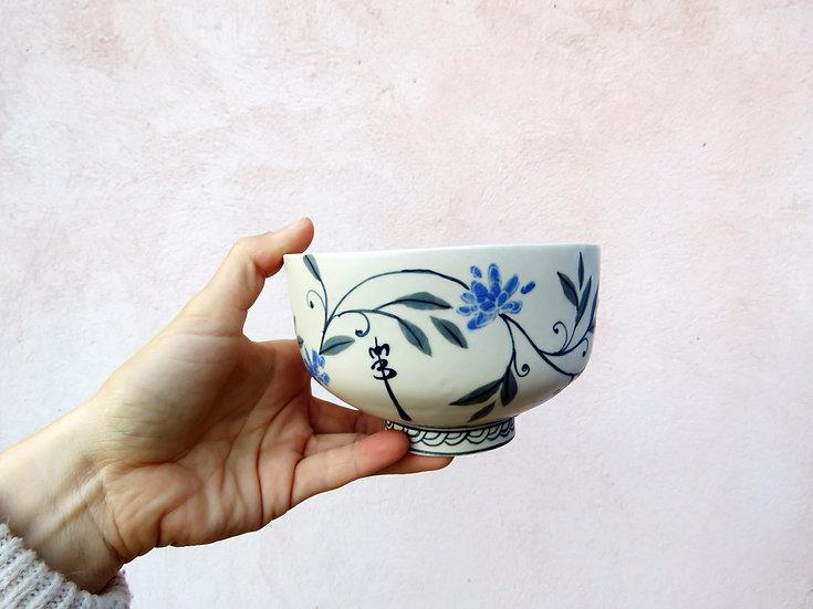 Bol lotus bleu