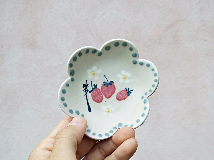 Petite coupelle fraises #2
