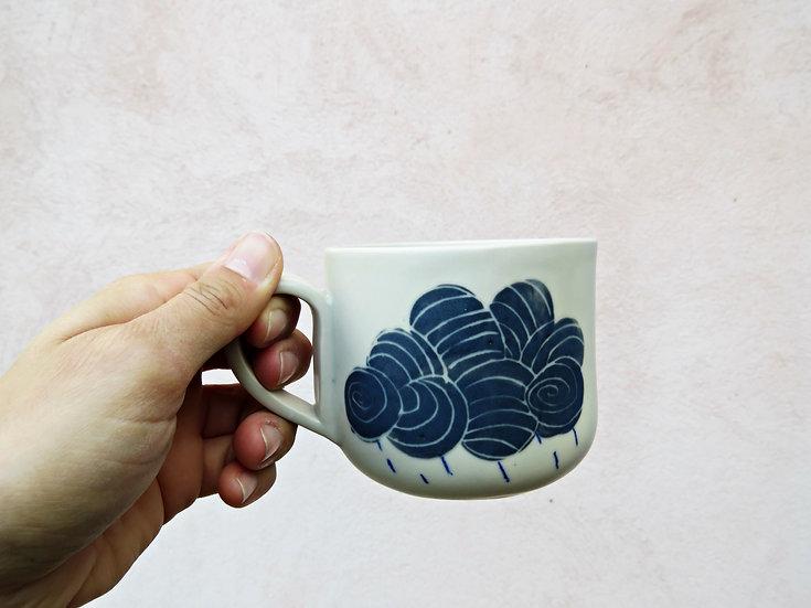 Tasse à thé Nuages & pluie
