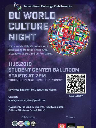 Bradley World Culture Night