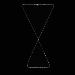 the afterglow necklace/ body chain