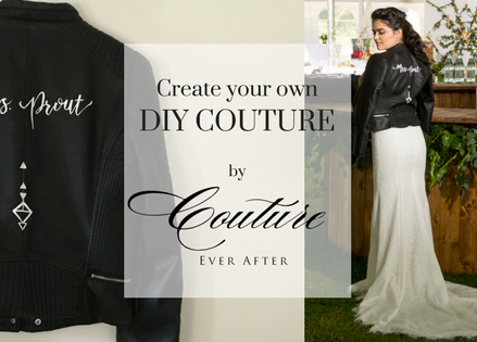 DIY COUTURE // Custom Jacket Painting