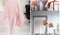 is pink the new gray right now?