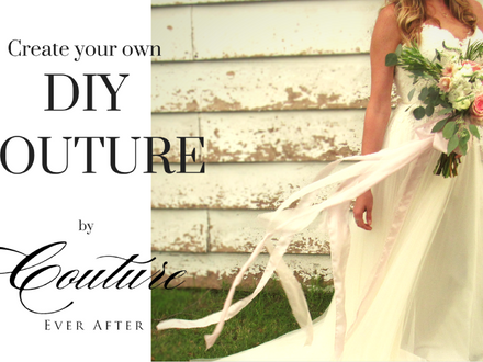 DIY Couture // Silk Bouquet Ribbons