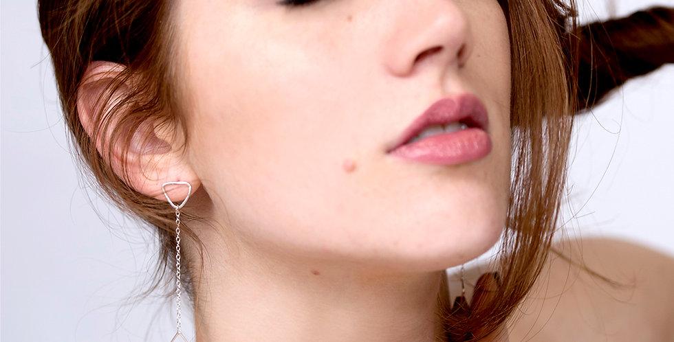 Geo Jewel Drop Earrings