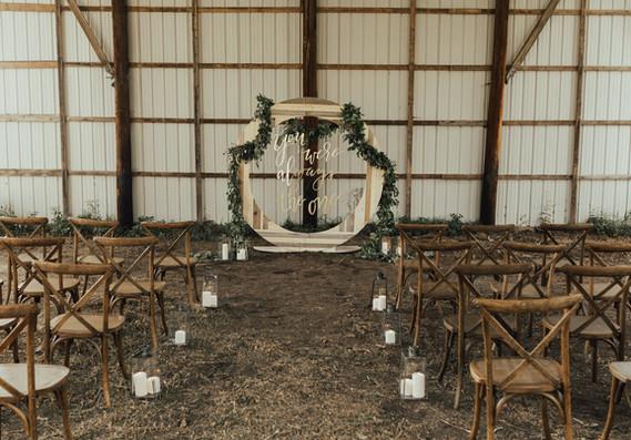 Circle Altar Backdrop