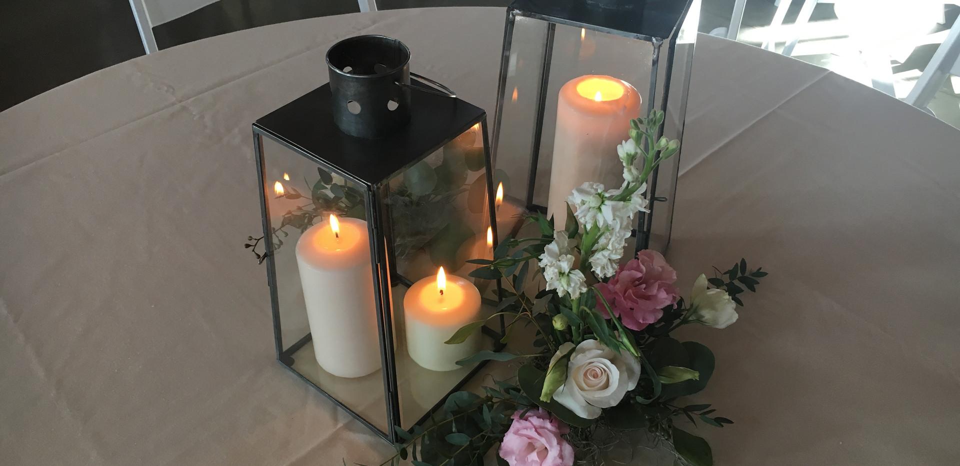 Antique Glass Lanterns