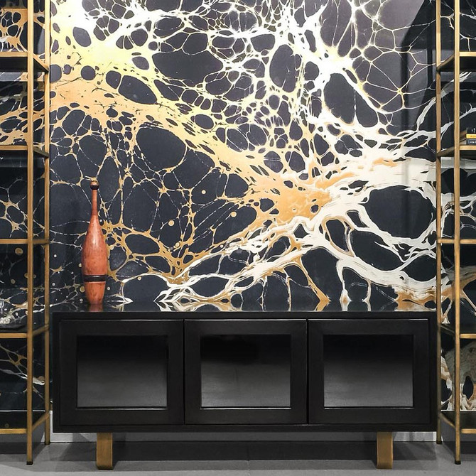 wall coverings the new way.