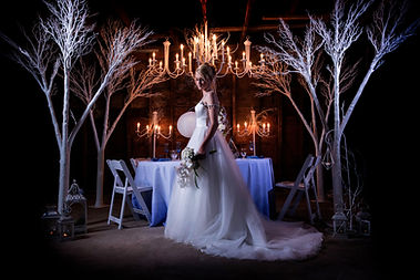 Romantic Wedding by Couture Ever After // Photo by Tm Davis