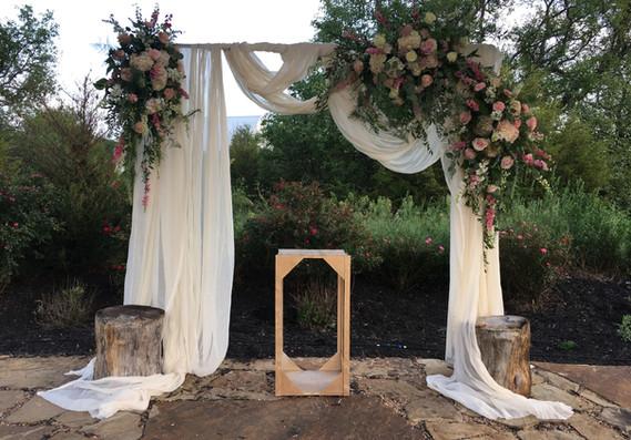Draped Altar