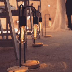 Edison lamps without towers