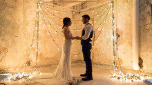 Industrial Modern Wedding // Where Steel & Vintage Bulbs = Magic
