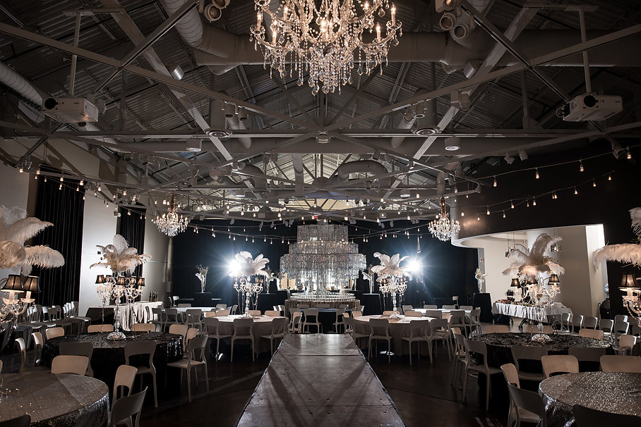Couture Ever After Chandelier and logo