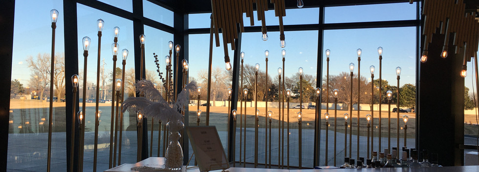Field of Bulbs, Overhang, and Mirror Bar