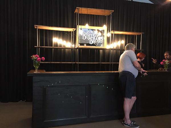 Custom Mirror Sign and Classic Black Bar