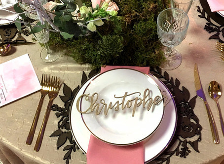 What's In A Name? Top 5 Unique Place Cards Of 2017
