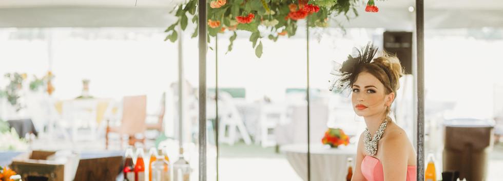 Flower Overhang and Circle Bar