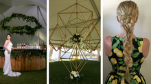 Chic + Citrus Styled Event // 4 Epic Custom Designs