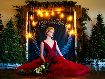 Merry Christmas // A Couture Winter Wedding