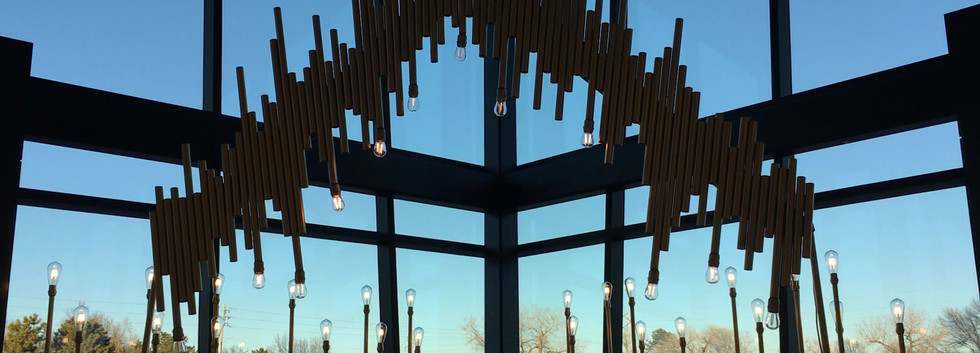 Field of Bulbs, Overhang and Mirror Bar