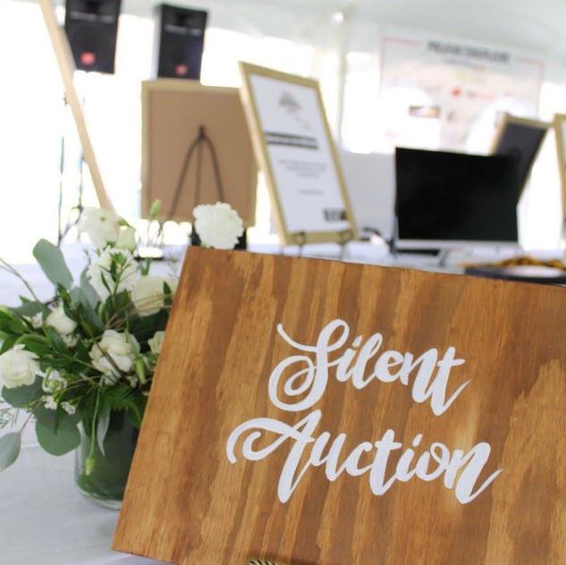 Silent Auction Custom Sign
