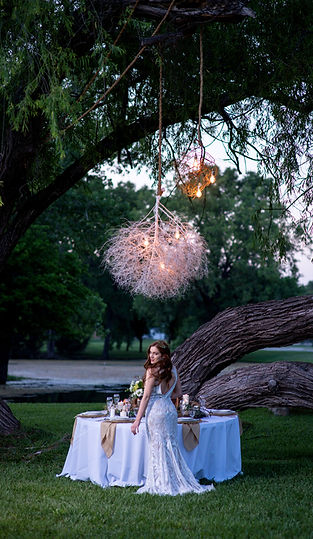 Natural Wedding by Couture Ever After // Photo by Tim Davis