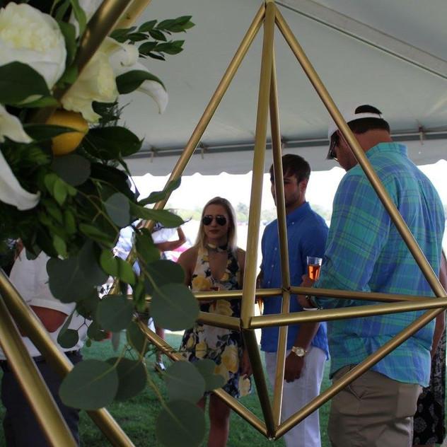 CEA Geometric Sculpture