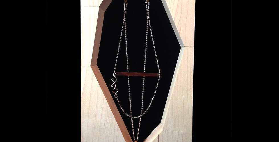 Illumination Bar Necklace Set